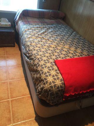 Canapé abatible+colchón