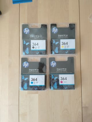 Tinta HP 364 Original sin abrir 4 cartuchos