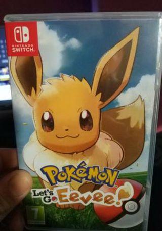 Pokémon let's go Eevee (Nintendo Switch)