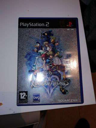 juego kingdom hearts 2 ps2