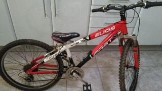 Bicicleta junior 24 pulgadas Elios Fast. 8-14 años
