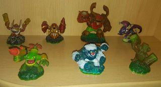 7 Figuras Skylanders