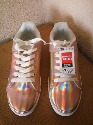 Zapatillas brillantes n°38