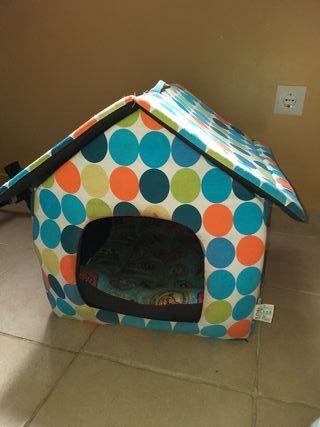 vendo casita para perro o gato