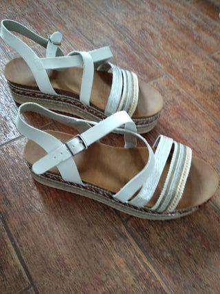 sandalias de señora