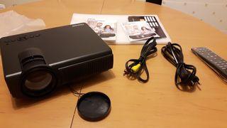 Vídeo Proyector HD 1080P de 1500 lúmenes Nuevo