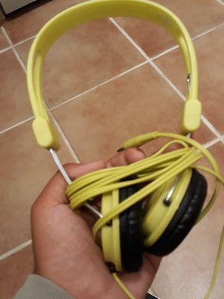 Auriculares Inalambricos Amarillos