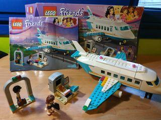 jet privado de lego friends