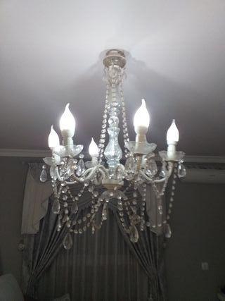 vendo lampara de colgar techo medidas 57cm