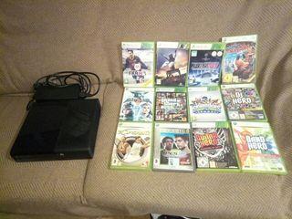 XBOX 360 + 12 juegos