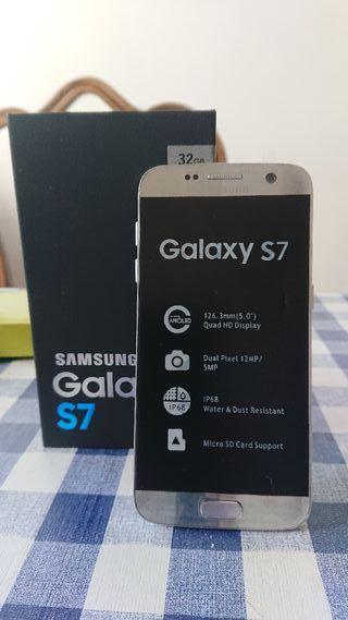 Samsung Galaxy S7 + cargador inalámbrico