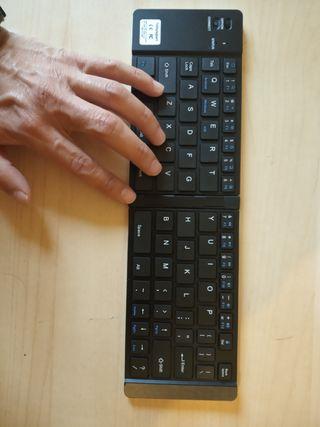 teclado portátil iOS Android y Windows