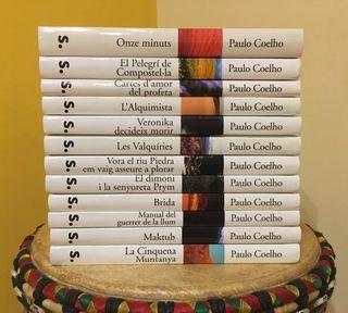 Col.lecció de llibres de Paulo Coelho NOUS