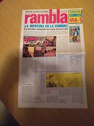Rambla especial como USA -1
