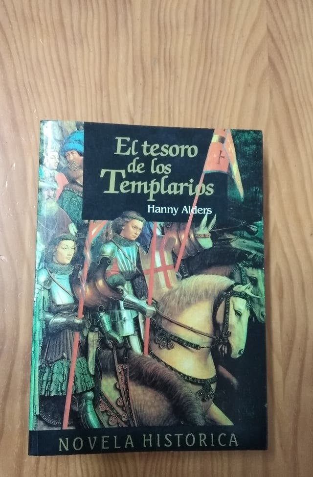 Libro El tesoro de los Templarios.