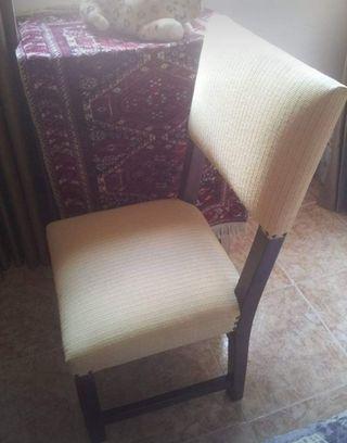 juego de 8 sillas y 2 tronas