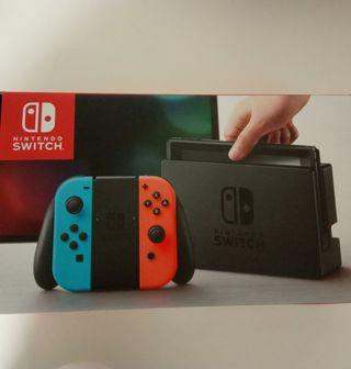 Nintendo Switch + funda Splatoon2