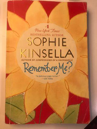 Remember me? -Sophir Kinsella