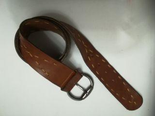 cinturón caballero de cuero talla 90 cm