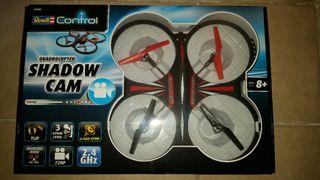 vendo quadcopter shadow cam mide 36 cm por 36 cm