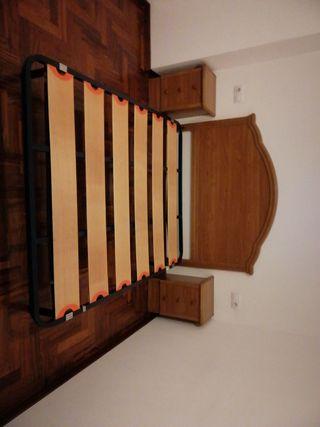 Dormitorio completo. cómoda mesitas cabecero
