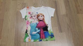 camiseta niña frozen talla 2 años nueva