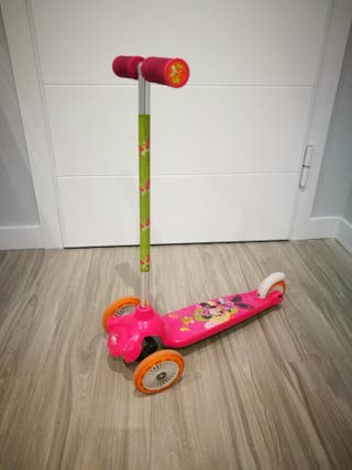 Patinete Minnie mouse