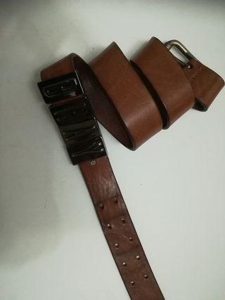 cinturón cuero talla 90 cm
