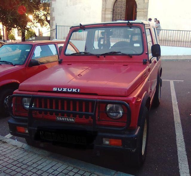Suzuki SAMURAI SJ410 1986