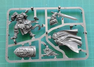 Warhammer Age of Sigmar Silver T. Knight Questor