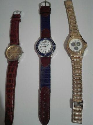 relojes (lote)