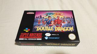 Super double dragon #Nuevo# super nintendo