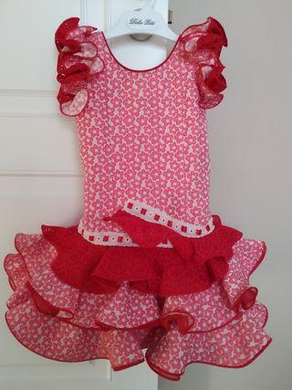 Vestido Flamenca 1-4 años