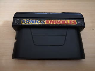 sonic and knuckles para megadrive