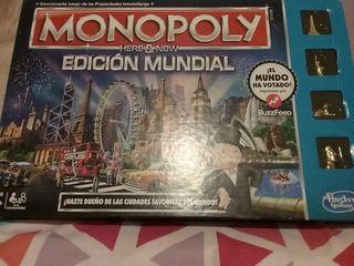 Monopoly edición mundial.