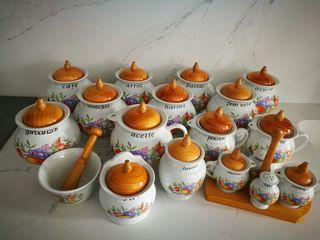 Tarros cocina cerámica