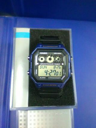 Reloj Casio nuevo con 2 años de garantia oficial