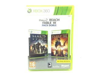Fableii + halo 3 x360 juego xbox 360