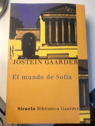 El mundo de Sofía- Jostein Gaarder