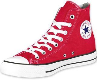 Zapatillas converse rojas altas