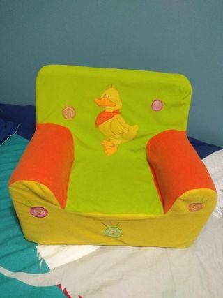 sofá para niños