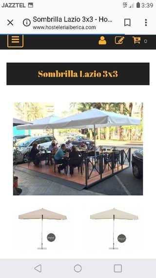 Sombrilla de terraza bar