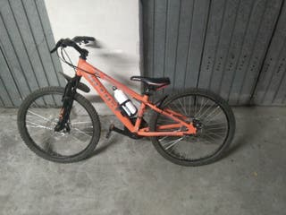 Bicicleta MTB aluminio niño.