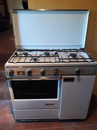 Cocina horno gas butano