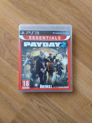 Juego PS3 Payday 2