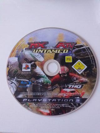 Juego PS3 sin caja mx vs ati untamed