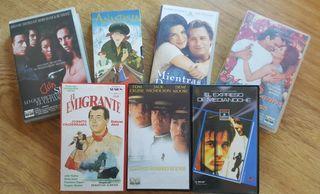 Colección de 7 películas de cine VHS variadas