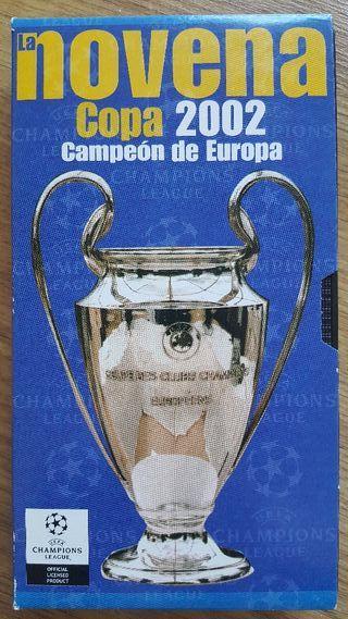 Novena Copa Europa Champions - Real Madrid - VHS