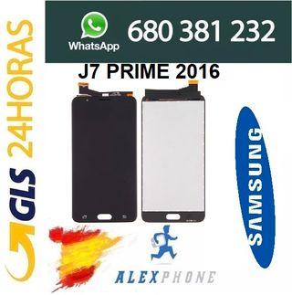 Pantalla completa LCD Samsung J7 Prime 2016 negra