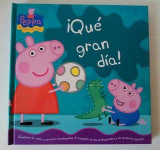 """Cuento Peppa Pig """"Que gran día"""""""